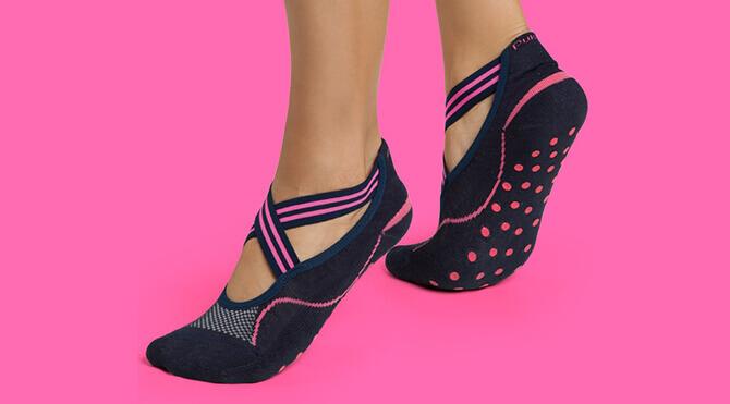 precio real mejor valorado elige genuino Calcetines de Pilates para mujer > Calcetines Antideslizantes