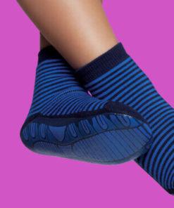 Calcetines antideslizantes hombre en azul