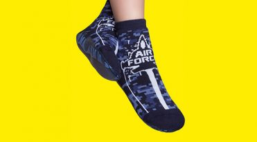 Calcetines con suela de goma para niños