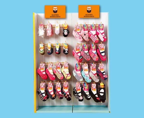 Variedad de calcetines antideslizantes