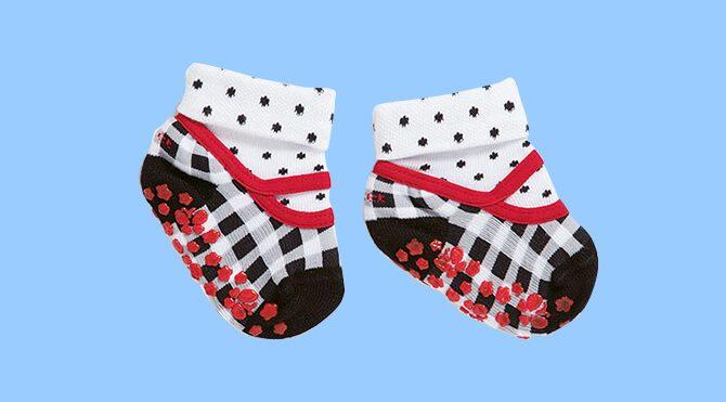 Zapatos calcetín con suela antideslizante para bebés