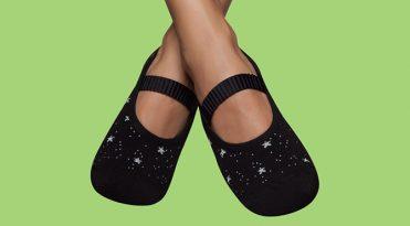 Calcetines antiderrapantes - Estrellitas brillantes