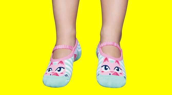 1ebd5c797 Calcetines con suela de goma para niñas > Calcetines Antideslizantes