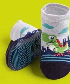Calcetines con suela para bebes