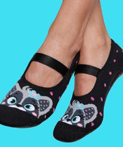 Calcetines suela goma