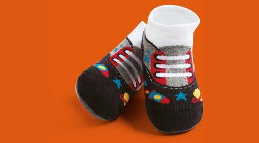 Calcetines zapatos bebé