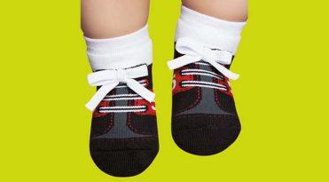 Zapatillas calcetín bebé