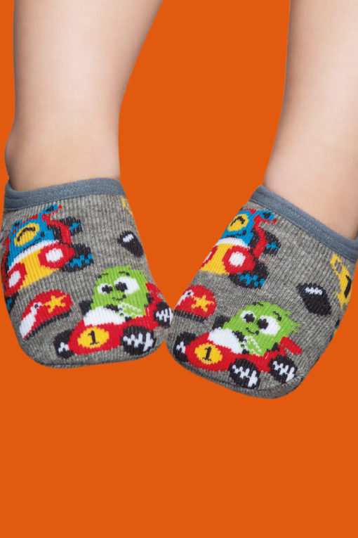 Calcetín con suela de goma para bebes