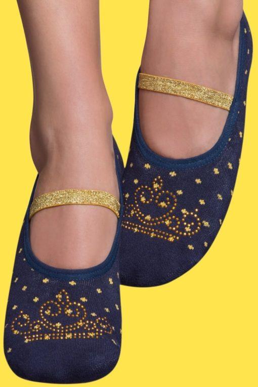 Calcetines antideslizantes de Princesa