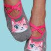 Calcetines antideslizantes estampado Gatitos