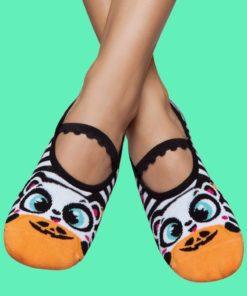Calcetines antideslizantes - osito Halloween