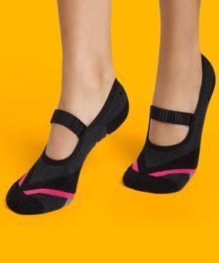 Calcetines con suela de goma