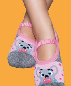 Calcetines con suela de goma Puket